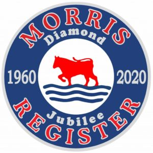 Morris Register - Diamond Jubilee Logo