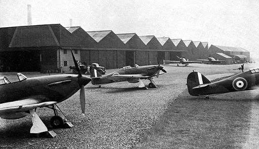 Morris Register - Cowley Airfield Hawker Hurricanes 1941